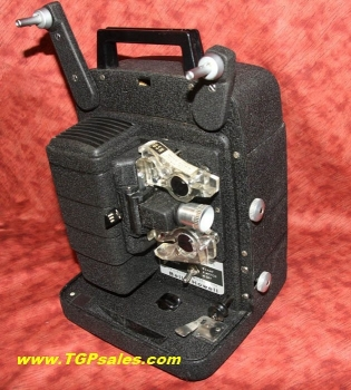 Bell & Howell 8mm movie projector 256 - customized w. electronic speed control - halogen lamp