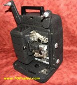 Bell & Howell 8mm movie projector 256 - customized w. electonic speed control - halogen lamp