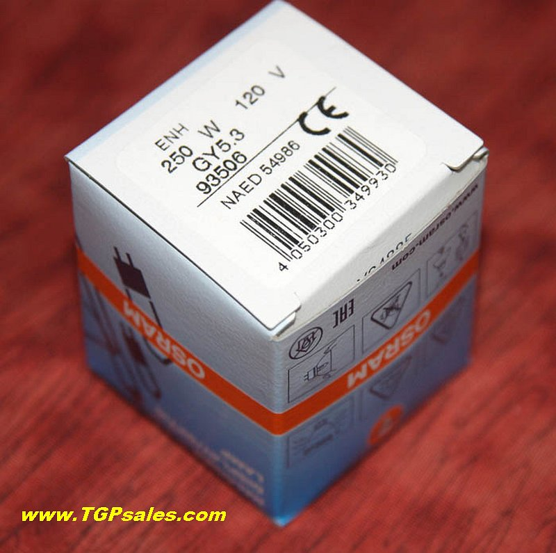 New Projection Lamp Enh 250w 120v Osram Tgp Sales A