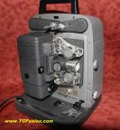 Bell & Howell 8mm movie projector 245A - Refurbished - w. halogen lamp