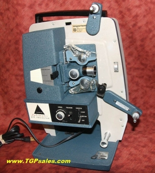 Tower - Sears 8mm movie projector Refurbished - halogen lamp upgrade