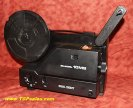 Bell & Howell dual 8 movie projector 10MS - variable speed - great for telecine film transfers