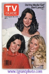 TV Guide - Charlie's Angels - Feb 18-24, 1978