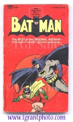 Batman paperback book - first printing March 1966