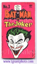 Batman vs. The Joker - paperback book - first printing May 1966