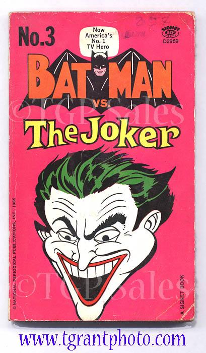 Batman Vs The Joker Paperback Book First Printing May