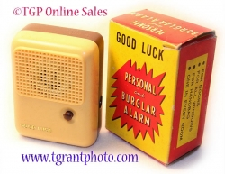 'Good Luck' Personal and Burglar Alarm - Vintage