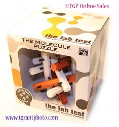 Professor Puzzle Lab Test - Wooden  Molecule Puzzle
