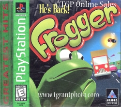 Frogger He's Back - Greatest Hits - PlayStation Game  -  Video Game