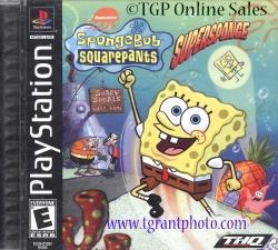 Spongebob Squarepants Supersponge - PlayStation Game  -  Video Game