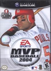 EA Sports MVP Baseball 2004  -  Nintendo Gamecube -  Video Game