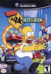 Simpsons Hit & Run   -  Nintendo Gamecube -  Video Game
