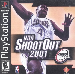 NBA Shoot Out 2001 - PlayStation Game  -  Video Game