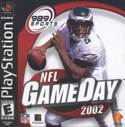 NFL Game Day 2002 - PlayStation Game  -  Video Game