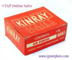 Kinray 4d Nails box - Vintage - Collectible