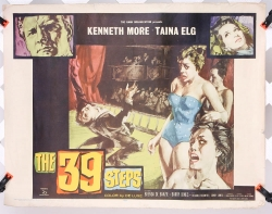 "39 Steps (1959 version) 22"" x 27"" - original movie poster"