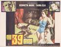 "39 Steps (1959 version) 22"" x 27"" - original movie poster"