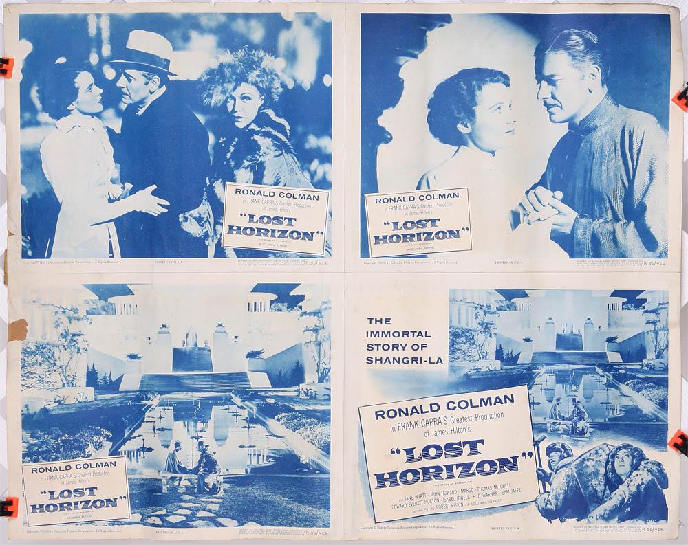 lost horizon  1937  four 11quot  x
