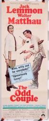 """Odd Couple (1968) 14"""" x 36""""- original movie poster V1"""