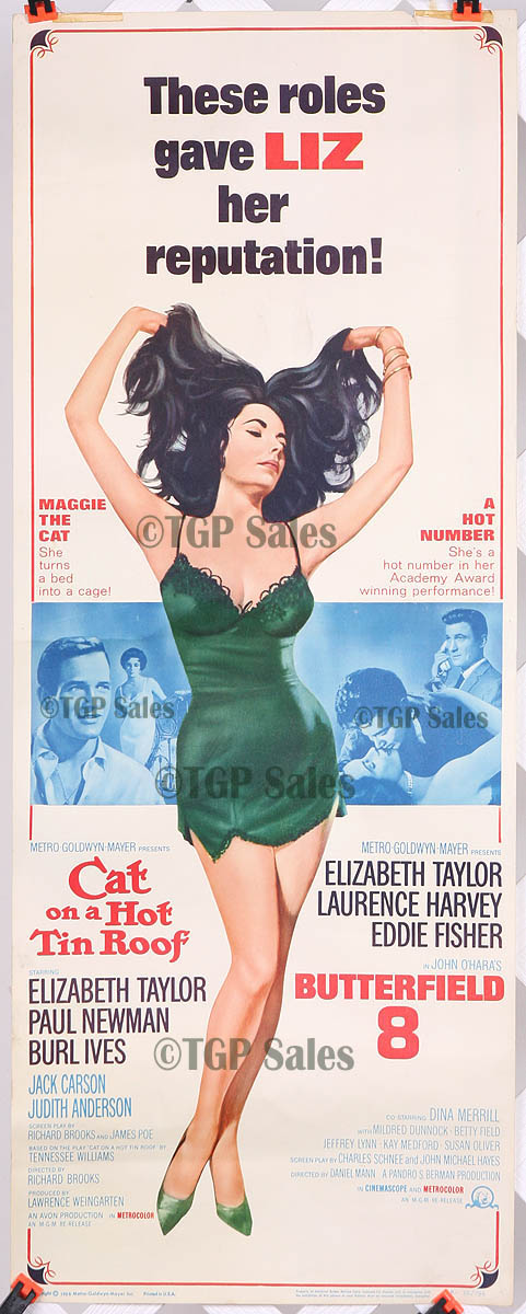Butterfield 8 Amp Cat On A Hot Tin Roof 1966 Re Release
