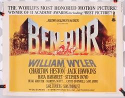 """Ben Hur (1969 reissue) 22"""" x 28"""" - original movie poster"""