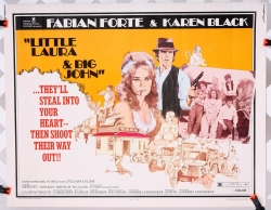 "Little Laura and Big John (1973) 22"" x 28"" - original movie poster"