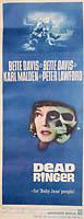 "Dead Ringer with Bette Davis (1964) -  14"" x 36"" - original movie poster V1"