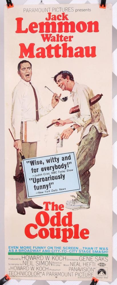 Movie Poster 1968 Odd Tastes