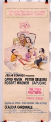 "Pink Panther (1963) starring Peter Sellers -  14"" x 36"" - original movie poster V1"
