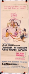 "Pink Panther (1963) starring Peter Sellers -  14"" x 36"" - original movie poster V2"