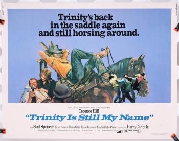 "Trinity is STILL My Name (1971) 22"" x 28"" - original movie poster"