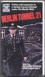 Berlin Tunnel 21(1981) WWII war drama (collectible VHS tape)