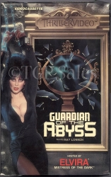 Elvira - Guardian of the Abyss (collectible VHS tape) Thriller Video