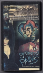 Elvira - Growing Pains  (collectible VHS tape) Thriller Video