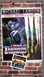 I Was a Teenage Werewolf - Michael Landon RARE (collectible VHS tape)