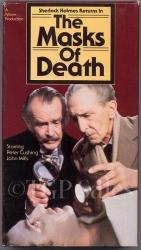 The Masks of Death - Sherlock Holmes (collectible VHS tape)