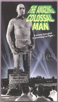 Amazing Colossal Man (1957) sci-fi (collectible VHS tape)
