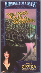 Elvira - The Giant Gila Monster (collectible VHS tape) Midnight Madness