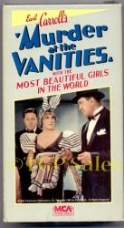 Murder at the Vanities (collectible VHS tape)