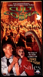 Cult of the Cobra - sci-fi - horror  (collectible VHS tape)
