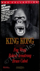 King Kong (1933) Horror - Action - Fay Wray (collectible VHS tape)