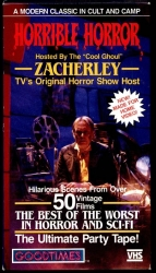 Horrible Horror hosted by Zacherley the Cool Ghoul (collectible VHS tape) LP