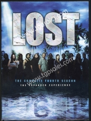 LOST Season Four (S. 4) The Expanded Experience (collectible 6 DVD box set)