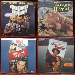 Hollywood Classics - 4 movies - Bogart, Weismuller, Milland, John Wayne (collectible Laserdisc)