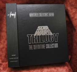 Star Wars Trilogy - Widescreen collector's edition (collectible Laserdisc) plus George Lucas book