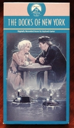 Docks of New York - silent classic (collectible VHS tape)