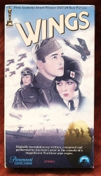 Wings - silent classic (collectible VHS tape)