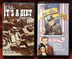 W. C. Fields - You Can't Cheat an Honest Man + It's a Gift (collectible VHS tape)