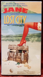 Jane & the Lost City (1987) w. Sam Jone, Robin Bailey  (collectible VHS tape)