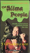 Slime People (1962) sci-fi (collectible VHS tape) stars Robert Hutton & Les Tremayne